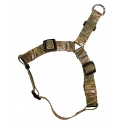 Waterfowl Camo Step-In Dog Harness