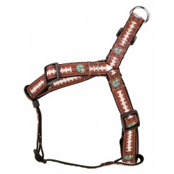 Football with Jack Ribbon Step-In Dog Harness Limited Edition