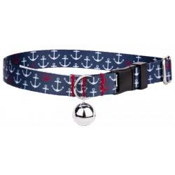 Anchors Away Featherweight Cat Collar