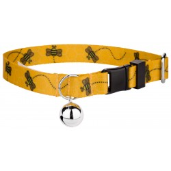 Busy Bee Cat Collar
