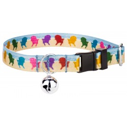 Beach Getaway Featherweight Cat Collar