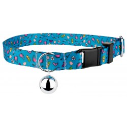 Blue Bunny Cat Collar
