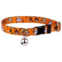 Frightening Furbabies Featherweight Cat Collar