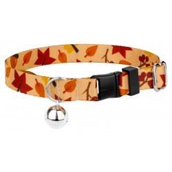 Fall Foliage Cat Collar