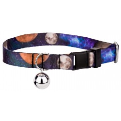 Galactic Neighbors Featherweight Cat Collar