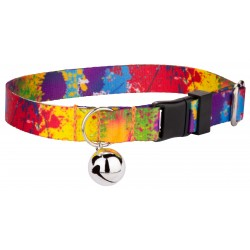 Paint Splatter Featherweight Cat Collar