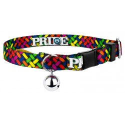 Pride and Peace Cat Collar