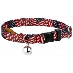 Patriotic Tribute Cat Collar
