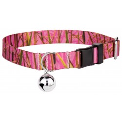 Pink Waterfowl Camo Cat Collar