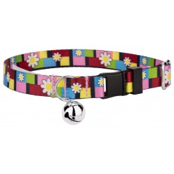 Spring Daisies Featherweight Cat Collar