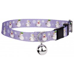 Snowman Featherweight Cat Collar