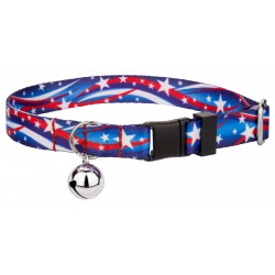 Star Spangled Featherweight Cat Collar