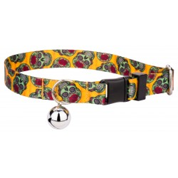 Sugar Skulls Cat Collar