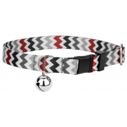 Sundry Chevrons Featherweight Cat Collar