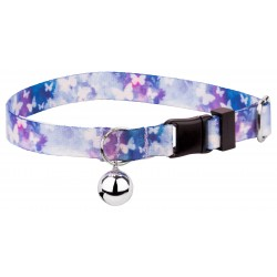Watercolor Butterflies Featherweight Cat Collar