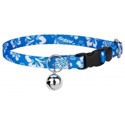 Blue Hawaiian Cat Collar