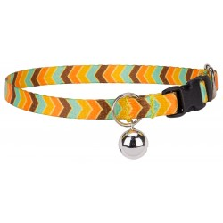Harvest Chevron Cat Collar