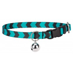 Midnight Chevron Cat Collar