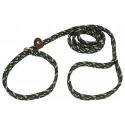 Lone Wolf Camouflage Flat Braided Rope Slip Lead, 6ft x 5/8in
