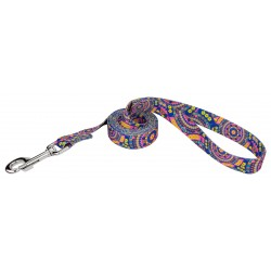 Blue Boho Mandala Dog Leash