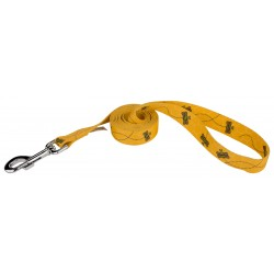 1/2 Inch Busy Bee Featherweight Dog Leash - 6 Foot