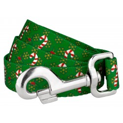 Candy Cane Christmas Dog Leash
