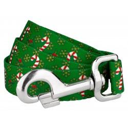 Candy Cane Christmas Dog Leash