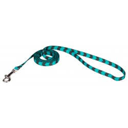 3/8 Inch Midnight Chevron Leash
