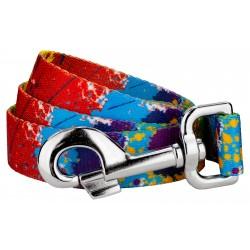 Paint Splatter Dog Leash