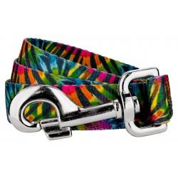 Tie Dye Stripes Dog Leash