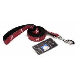 Alabama Crimson Tide Ribbon Dog Leash