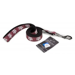 Texas A&M Aggies Ribbon Dog Leash