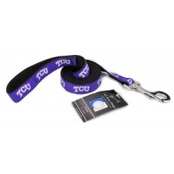 TCU Horned Frogs Ribbon Dog Leash