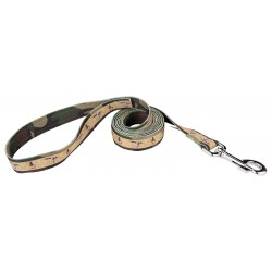 Duck Camo Ribbon Dog Leash
