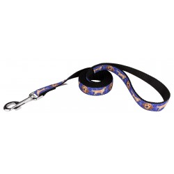 Golden Retriever Ribbon Dog Leash