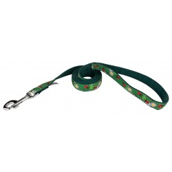 Ladybugs Picnic Ribbon Dog Leash