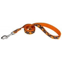 Moonlight Grin Ribbon Dog Leash