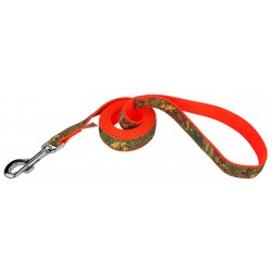 Southern Forest Camo Ribbon Dog Leash