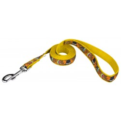 Thanksgiving Tradition Ribbon Dog Leash