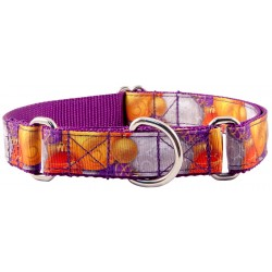 Christmas Ornaments Ribbon Martingale Dog Collar Limited Edition