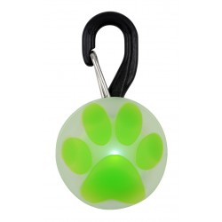Nite Ize® PetLit LED Lime Paw Collar Light
