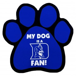 My Dog is a Duke Fan! Paw Magnet