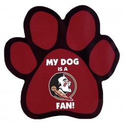 My Dog is a FSU Fan! Paw Magnet