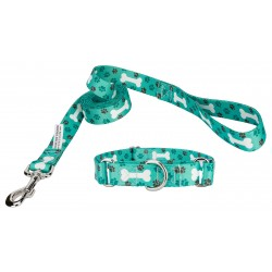 Oh My Dog Featherweight Martingale Dog Collar & Leash - Extra Small