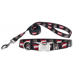 I Love Mom Premium Dog Collar & Leash