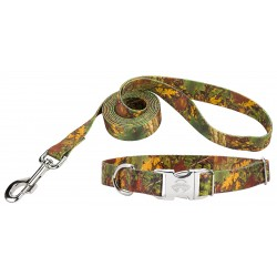 Southern Forest Camo Premium Dog Collar & Leash