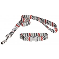 Sundry Chevron Premium Collar & Leash