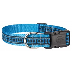 Deluxe Illusion Bone Woven Ribbon Dog Collar Limited Edition