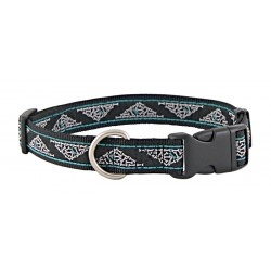 ''What Dreams Are Made Of'' Jacquard Ribbon Dog Collar Limited Edition