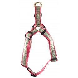Fresh Spring Floral Jacquard Ribbon Step-In Harness - Closeout